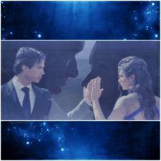 Delena. Damon ♥ Elena. TVD. My digital art.
