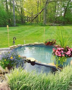 A pool in your backyard will do wonders on this. Here are s number of ideas for DIY galvanized stock tank pool