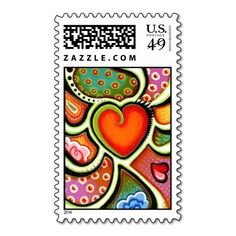 Red Wild Heart StampCardinal Christmas Postage Stamps $10 OFF FOR A SHEET OF POSTAGE TODAY!!!!---- USE CODE:  ZWEEKOFDEALS