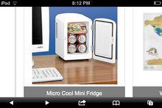 Mini fridge for your desktop!