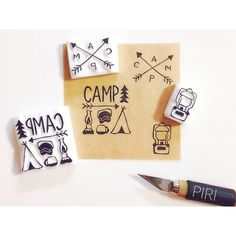 Camp Stamp Set