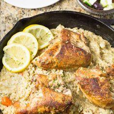Greek Lemon Rice with Chicken - Salu Salo Recipes