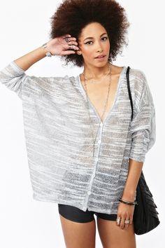 Hazy Stripe Knit