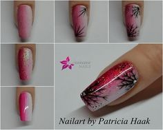 Nageldesign von winter-nailart-anleitun