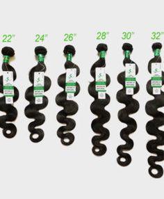 long inch brazilian hair waves