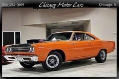 1969 PLYMOUTH ROADRUNNER COUPE 440 Six Barrel Engine AMERICAN RACING WHEELS WOW!