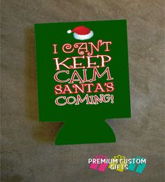 Christmas Koozies.10 Best Personalized Christmas Can Coolies Images