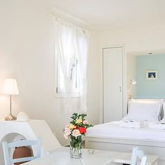 Boutique Hotel in Naxos - Kavos Luxurious suites & apartments in Naxos island Greece A Boutique, Luxury, Bed, Furniture, Home Decor, Style, Swag, Decoration Home, Stream Bed