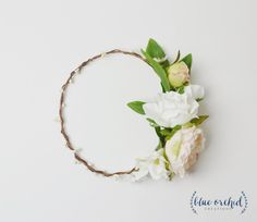 Peony Flower Crown, Cream and Pink Flower Crown, Silk Flower Crown, Boho Flower Crown, Beach Wedding, Wedding Hair Accessories, Floral Crown by blueorchidcreations on Etsy  For more wedding inspiration check out our blog www.creativeweddingco.com