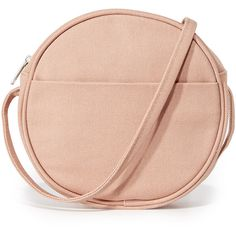 BAGGU Small Canvas Circle Purse ( 45) ❤ liked on Polyvore featuring bags 8a68517b36878