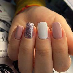 enchanting fall color nail art design ideas to try this.- enchanting fall color nail art design ideas to try this season page 31 Summer Acrylic Nails, Cute Acrylic Nails, Cute Nails, Gel Nails, Nail Polish, Summer Nails, Pointy Nails, Pink Polish, Classy Nails