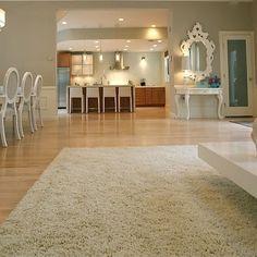 Maple Wood Floors Great Room