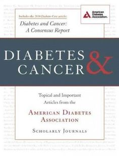 DIABETES & CANCER NEW PAPERBACK BOOK #ad