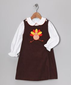 Turkey Corduroy Jumper- Hurry its selling out fast!  http://www.zulily.com/invite/jpalmer893/p/white-blouse-turkey-corduroy-jumper-infant-toddler-girls-25723-2141514.html?tid=social_pinref_shareviaicon_na=2141514