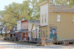 Wichita, KS - Old Cowtown - Main Street - 2