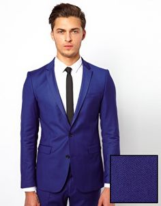 Selected Slim Fit Suit...janelle will never go for this. but i like it