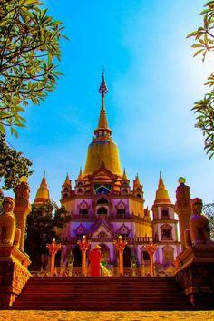 Buu Long temple, Ho Chi Minh City, Vietnam