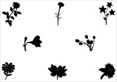 Flower Vector GraphicsSilhouette Clip Art