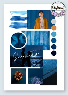 Find more handmade inspiration on Craftrina! Mise En Page Portfolio Mode, Fashion Portfolio Layout, Portfolio Design, Land Art, Mood And Tone, Mood Colors, Colour Board, Picsart, Fashion Mood Boards