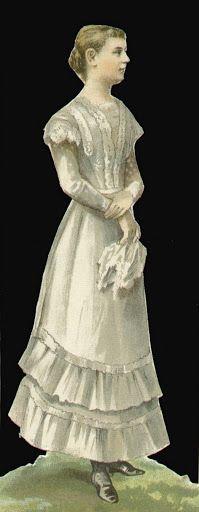 Aankleedpop - Koningin Wilhelmina  dress up doll Queen Wilhelmina -1890-1948 Became Queen of the Netherlands at age 10