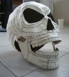 use of pepakura.  3d digital model into paper folds.