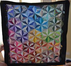 Looking for quilting project inspiration? Check out Charming & Colourful Friends by member cminv7, Quilting Big Projects on a Small Machine on Craftsy