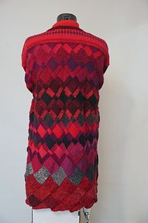 Ravelry: Tanyarzh's Irregular entrelac Yarn Needle, Knitting Needles, Ravelry, My Arts, Wool, Pattern, Fashion, Moda, Fashion Styles