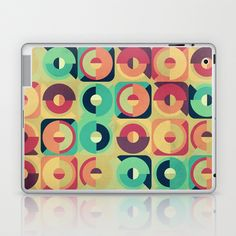 Round and Round Laptop & iPad Skin by VessDSign - $25.00
