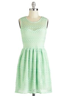 It's Only Mint Believe Dress, #ModCloth    With some brown slouchy boots or little white flats, this dress looks like a versatile slam dunk!