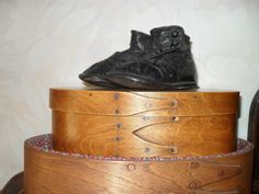 Sweet Early Leather Antique Small Child's Button Up High Top Shoes              eBay   ~<3~