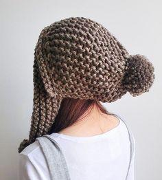Pom Pom Hat & Ear Flaps
