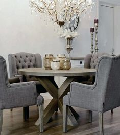 Sophisticated Round Grey Dining Table Bright Inspiration Round Grey Dining  Table Grey Dining Table Set With
