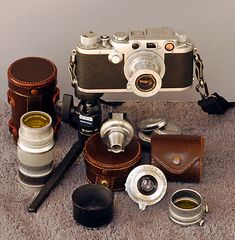 Leica Screw Mount Cameras - the 1930's through the 1950's