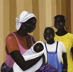 love is love, the family by acclaimed artist varnette p_ honeywood