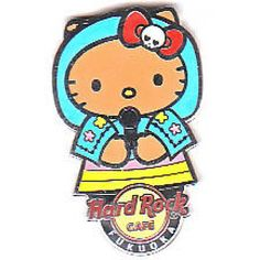 Hard Rock Cafe 2012 Hello Kitty World Pin #7 (India)