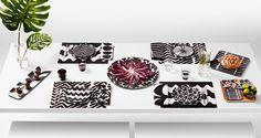 Marimekko for Target table and dinnerware collection via @thouswellblog