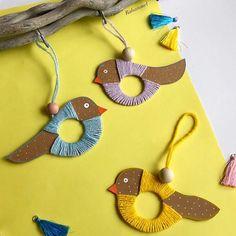 Bird Crafts, Animal Crafts, Nature Crafts, Easter Crafts, Diy For Kids, Crafts For Kids, Arts And Crafts, Summer Crafts, Holiday Crafts
