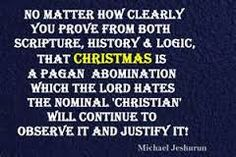 Image result for all holidays are pagan