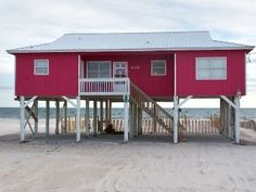 Beach Front House'Beach Dreams'  Without the Beach Price   Vacation Rental in Fort Morgan from @homeaway! #vacation #rental #travel #homeaway