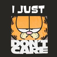 Garfield being cranky Garfield Pictures, Garfield Quotes, Garfield Cartoon, Garfield And Odie, Garfield Comics, I Dont Care Quotes, Garfield Wallpaper, I Hate Mondays, Monday Humor