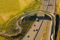 Vancouver Land Bridge  My gramps, a bridge lover and builder, would have happy-freaked at this!