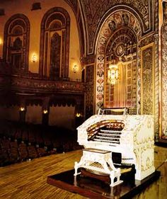 Embassy Theatre, Fort Wayne, IN. Built in 1928. Architects John Eberson & A.M. Strauss. Its 'Grande Page' theatre organ is a magnificent instrument.
