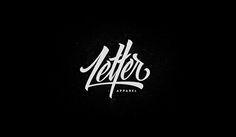 Recent Custom Lettering & Logo by Dexsar Harry Anugrah, via Behance