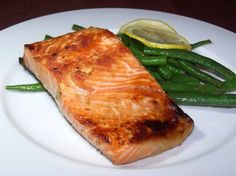 honey ginger grilled salmon swordfish or mahi mahi honey ginger ...