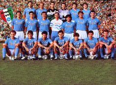 El Napoli de Diego Armando Maradona Campeon de Italia.