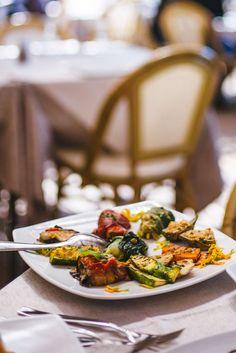 antipasta mixed grilled vegetables da gelsomina restaurant in capri, italy, the taste sf