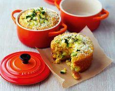 Corn bread (pan de maiz) con calabacín