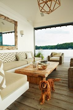 anne hepfer outdoor lake house room