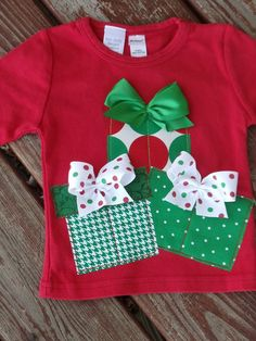 Custom Girls Christmas Gifts O CHRISTmAS by TOOCUTEbyJeannette, $20.00