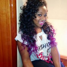 Reginae Carter. She looks so much like her mother. Beautiful